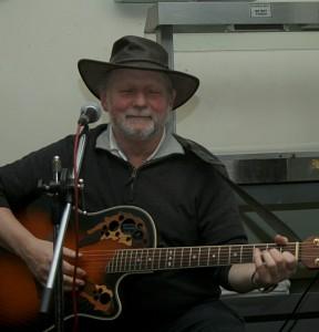 Shenanigans band member Alan Blakeman
